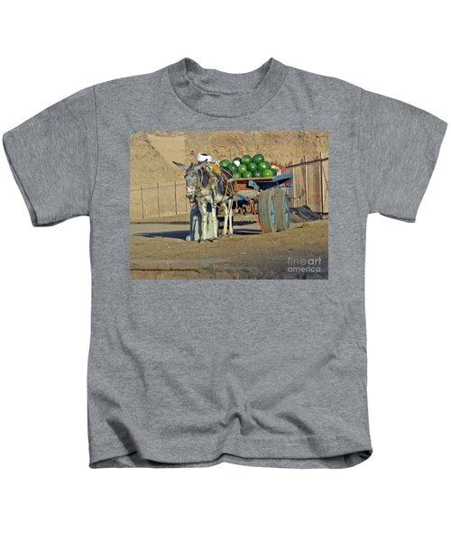 Watermellon Cart Karnac Egypt Kids T-Shirt