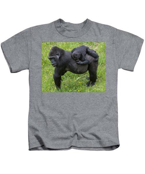 Western Lowland Gorilla 2 Kids T-Shirt