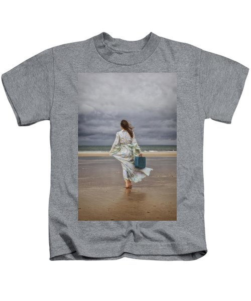 When The Wind Blows Away My Dreams Kids T-Shirt