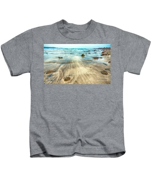 White Sand Beach Kids T-Shirt