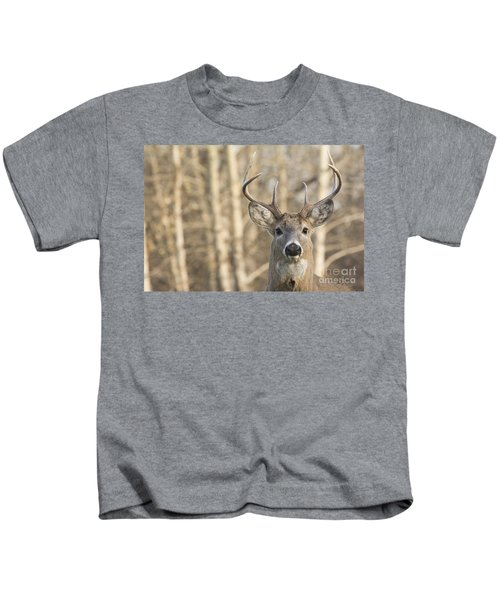 White-tailed Buck Kids T-Shirt