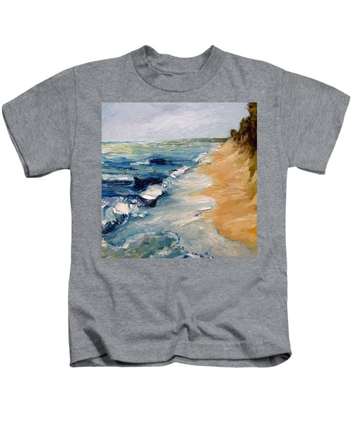 Whitecaps On Lake Michigan 3.0 Kids T-Shirt
