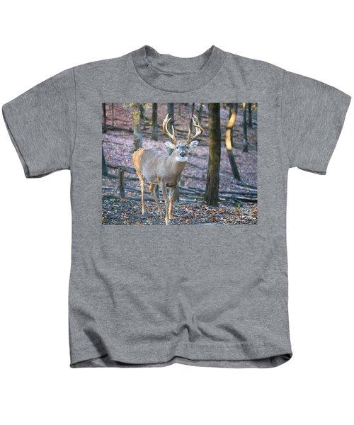 Whitetail Buck Kids T-Shirt