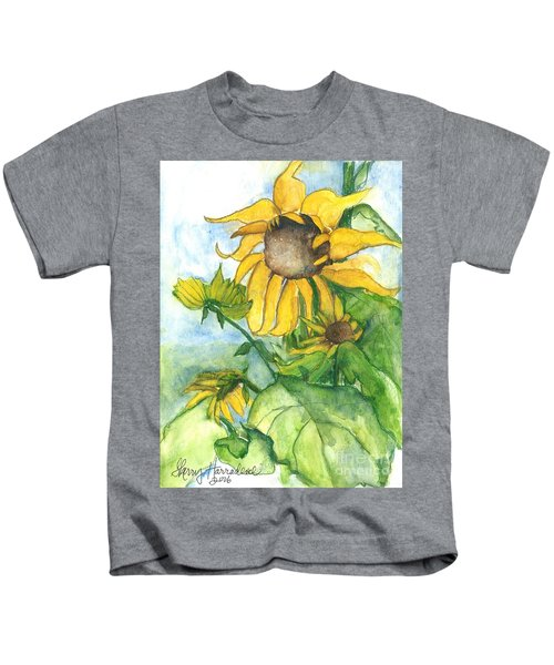 Wild Sunflowers Kids T-Shirt