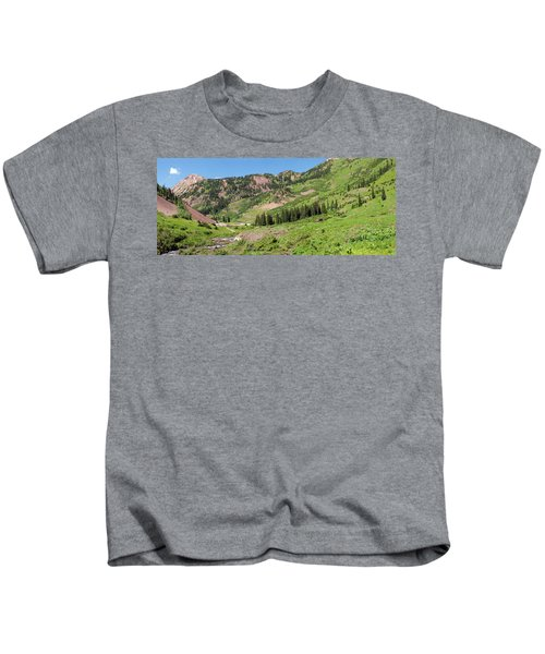 Wilderness Area And Snake River Kids T-Shirt