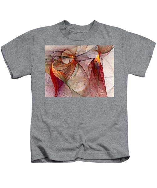 Winged-abstract Art Kids T-Shirt