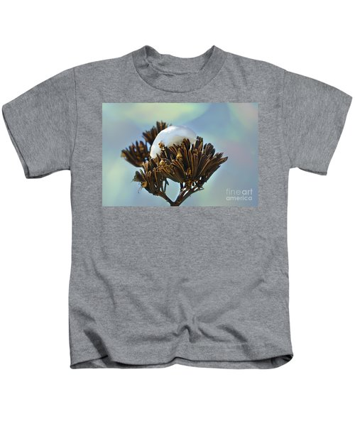 Winter Agave Bloom Kids T-Shirt