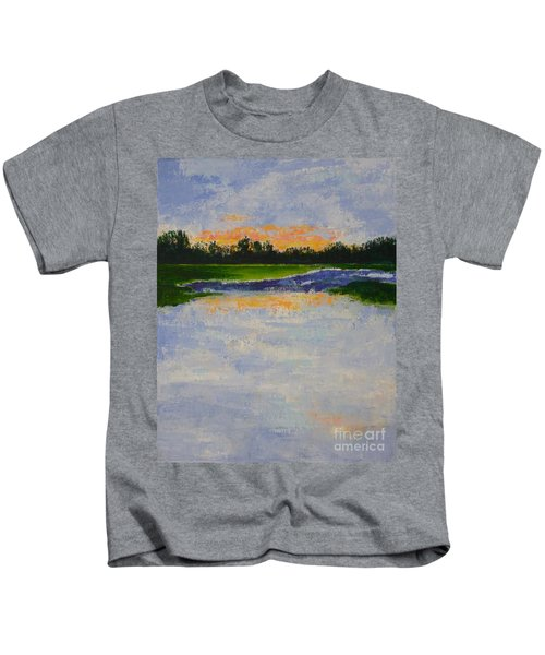 Winter Solstice Sunrise Kids T-Shirt