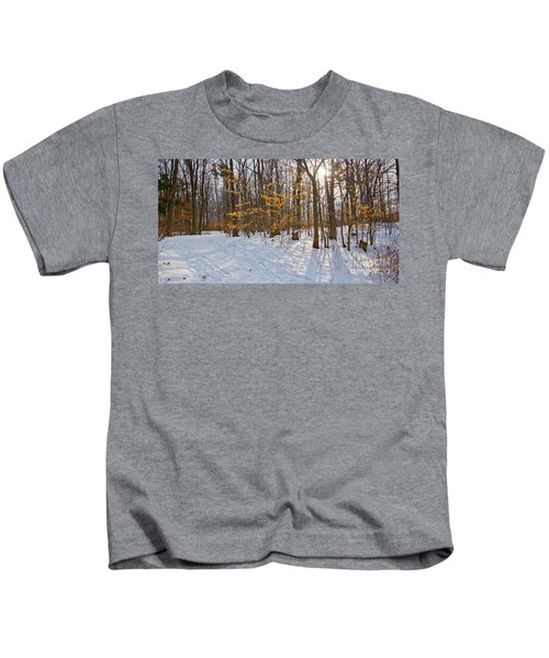Winter Walk Kids T-Shirt