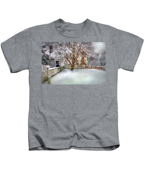 Wintry Garden Kids T-Shirt