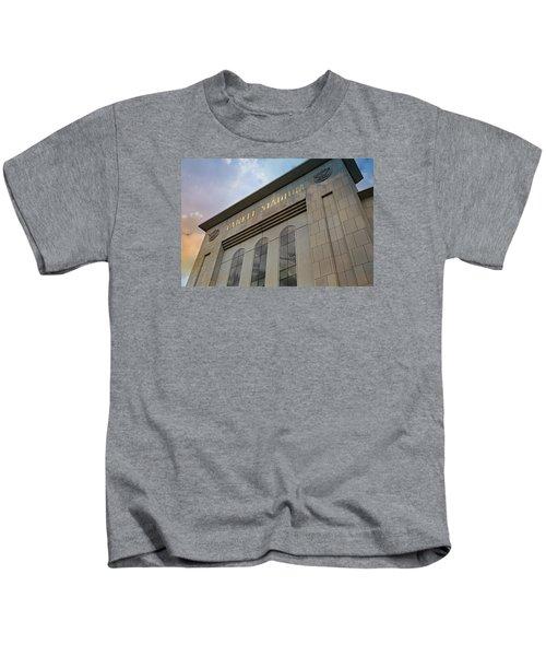 Yankee Stadium Kids T-Shirt by Stephen Stookey