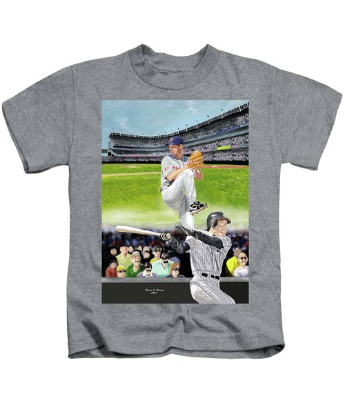 Yankees Vs Indians Kids T-Shirt