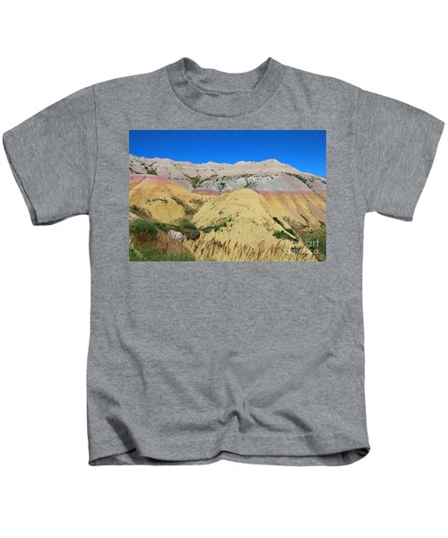 Yellow Mounds Badlands National Park Kids T-Shirt