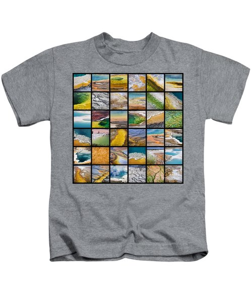 Yellowstone Colors Kids T-Shirt
