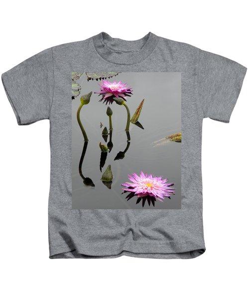 Zen Lilies Kids T-Shirt