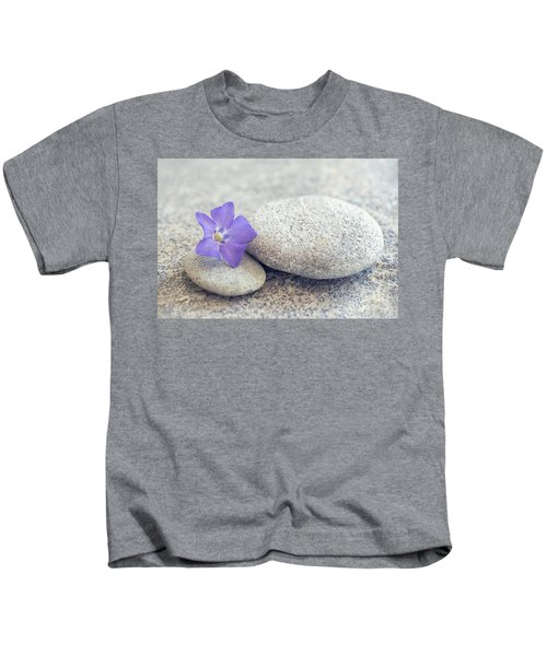 Zen Periwinkle Kids T-Shirt
