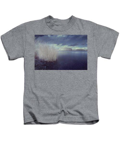 Infrared At Llyn Brenig Kids T-Shirt