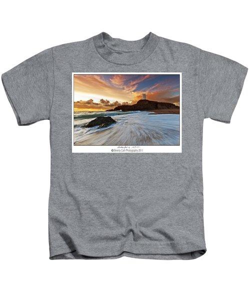 Llanddwyn Island Lighthouse Kids T-Shirt