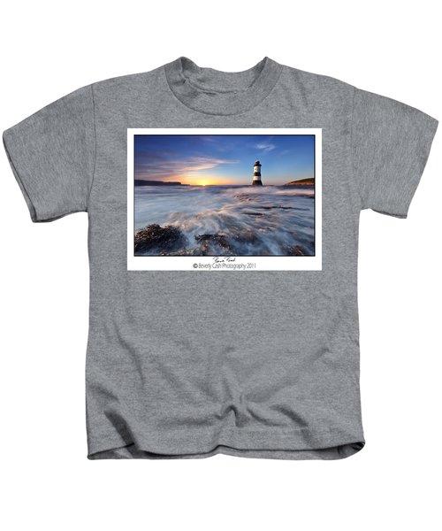 Penmon Point Lighthouse Kids T-Shirt
