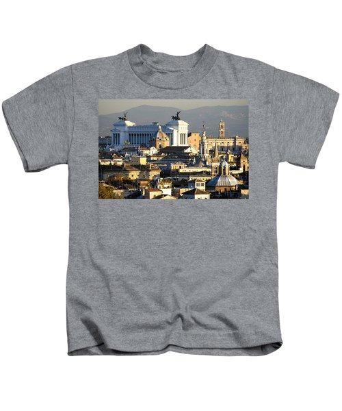 Rome's Rooftops Kids T-Shirt