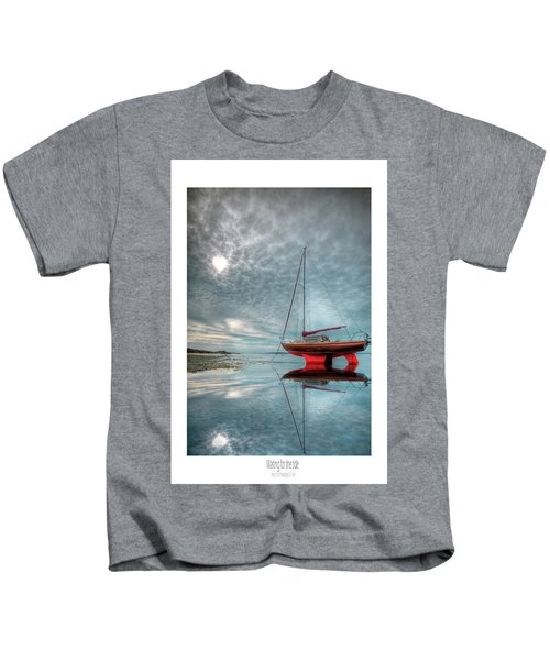 Waiting For The Tide Kids T-Shirt