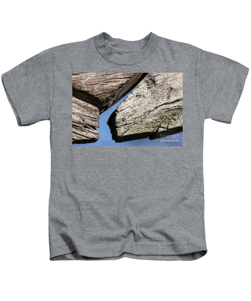 Abstract With Angles Kids T-Shirt