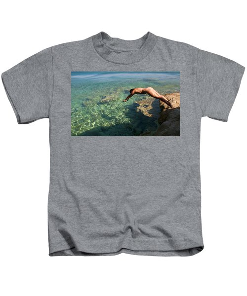 Dive Into The Sea Kids T-Shirt