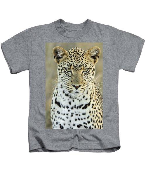 Leopard Panthera Pardus Female Kids T-Shirt