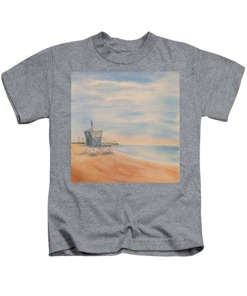 Morning By The Beach Kids T-Shirt