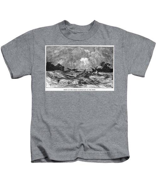 New Madrid Earthquake Kids T-Shirt