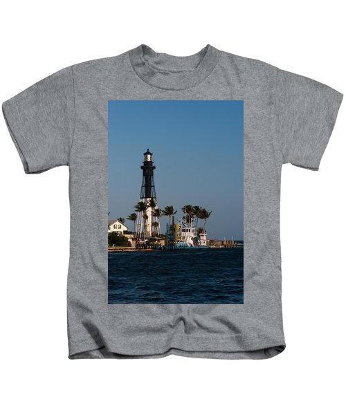 Hillsboro Inlet Lighthouse Kids T-Shirt