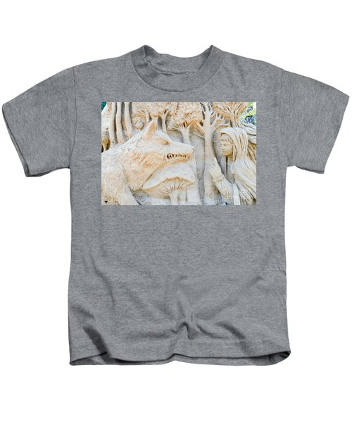 Fairytale Sand Sculpture  Kids T-Shirt