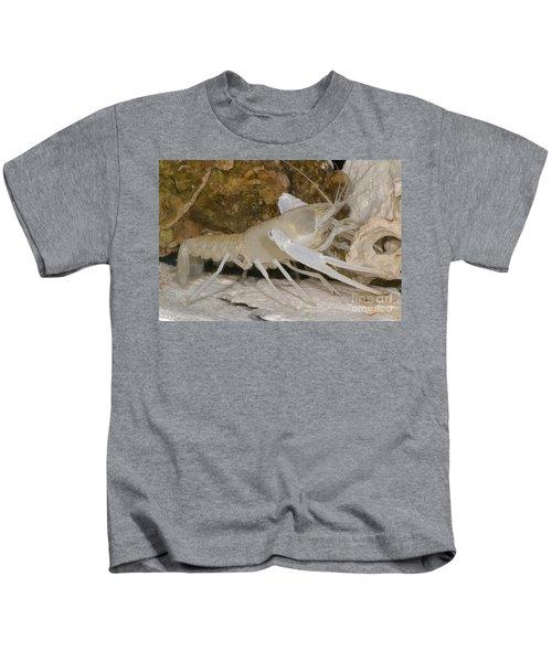 Florida Cave Crayfish Kids T-Shirt