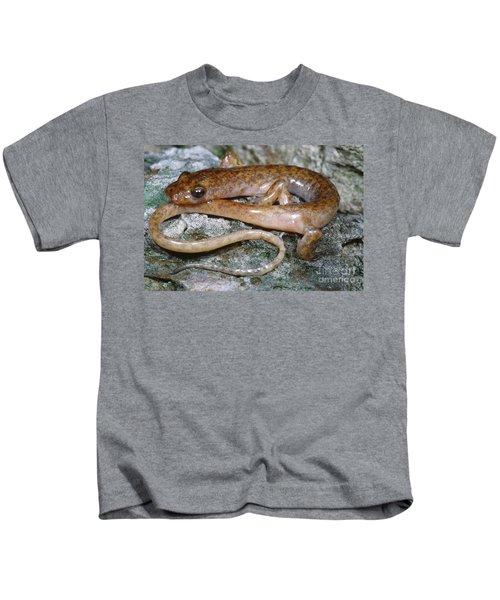 Cave Salamander Kids T-Shirt