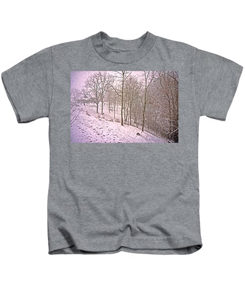 A Walk In The Snow Kids T-Shirt