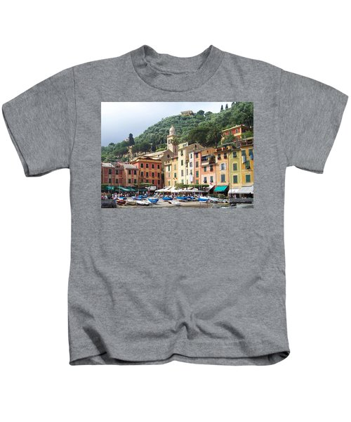 Afternoon In Portofino Kids T-Shirt