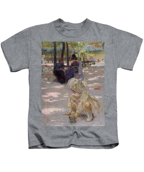 An August Afternoon At The Luxembourg Kids T-Shirt