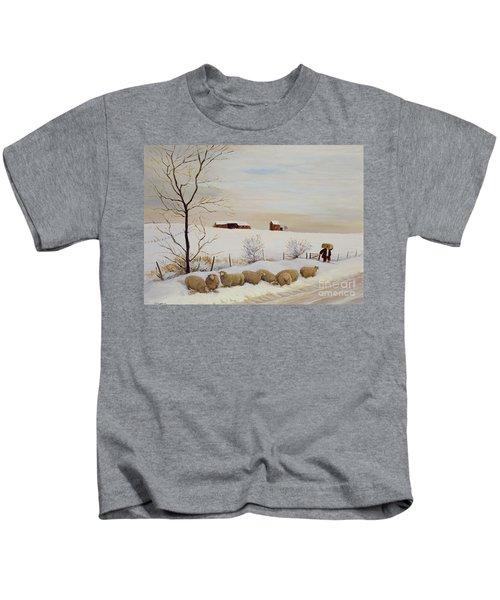 Another Hard Winter Kids T-Shirt