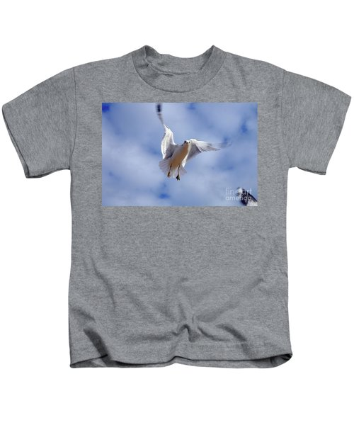 Applying Brakes In Flight Kids T-Shirt