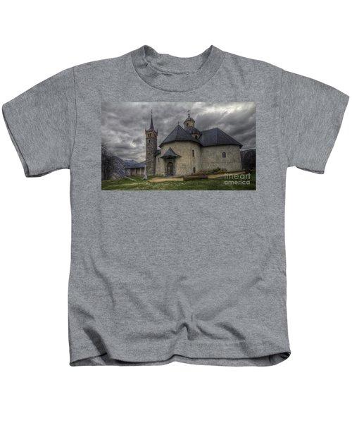 Baroque Church In Savoire France 6 Kids T-Shirt