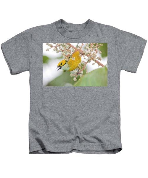 Bird With Berry Kids T-Shirt