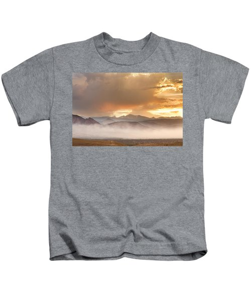 Boulder Colorado Scenic View June 26th Kids T-Shirt