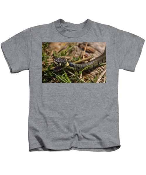 British Grass Snake Kids T-Shirt