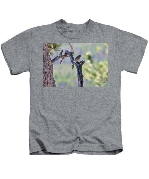 Building Her Nest Kids T-Shirt