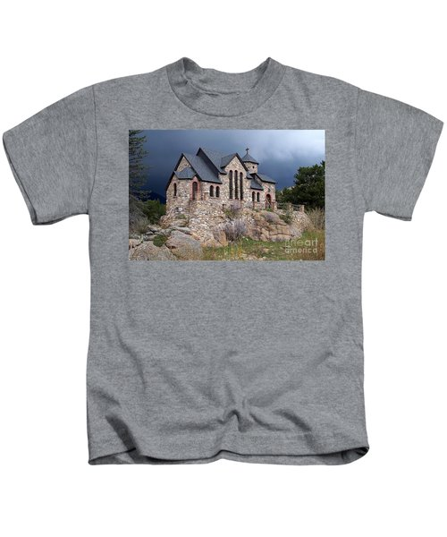 Chapel On The Rocks No. 1 Kids T-Shirt