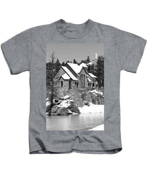 Chapel On The Rocks No. 2 Kids T-Shirt