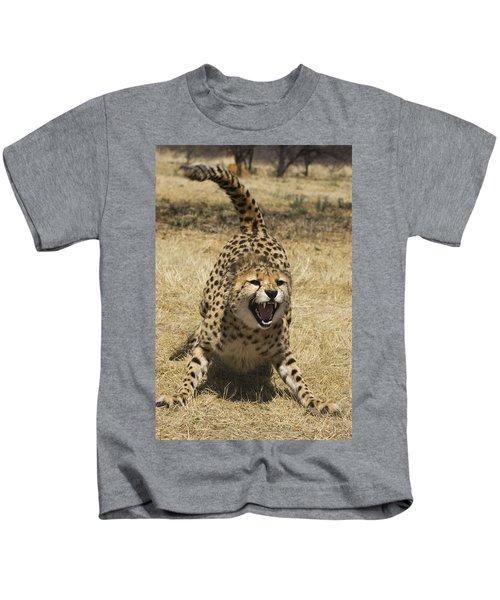 Cheetah Hissing Kids T-Shirt