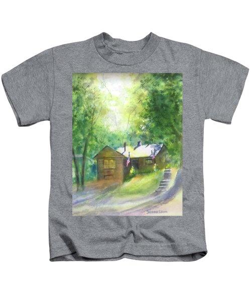 Cool Colorado Cabin Kids T-Shirt