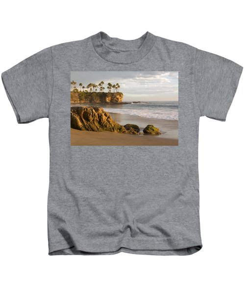 Crescent Bay Beach Laguna Kids T-Shirt
