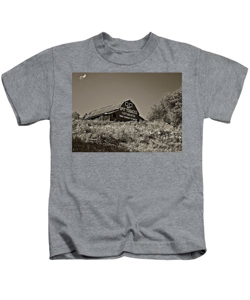 Crusading Barn Monochrome Kids T-Shirt